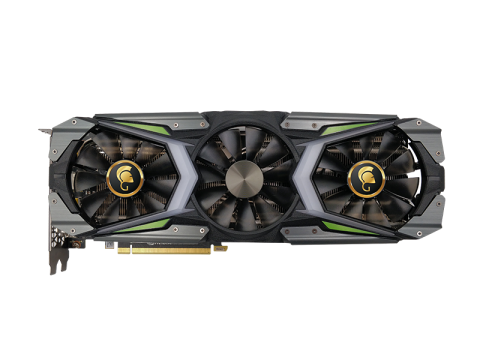 MANLI GeForce RTX 2080Ti Gallardo with Customized LED Lights (M3442+N504)